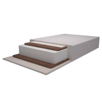 Матрас в кроватку Pituso Двойной бикокос+холлофайбер+латекс 125х65х12см P04CL