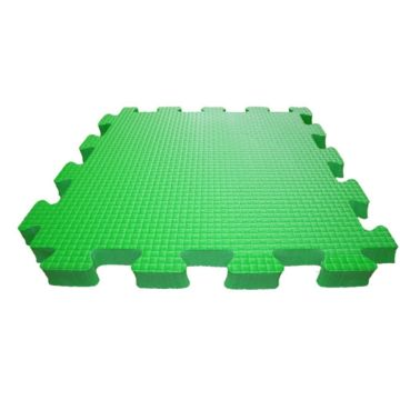 Мягкий пол Babypuzz 100*100*4 (зеленый)