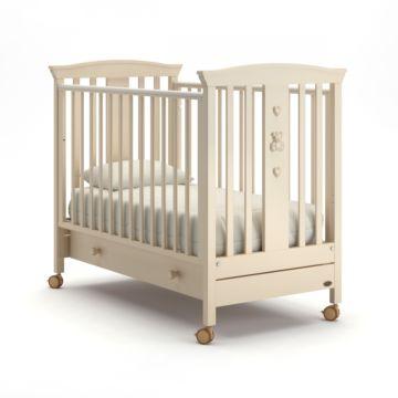 Кроватка Nuovita Fasto (колесо) (слоновая кость)