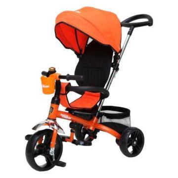 """Трехколесный велосипед Navigator Lexus с утолщенными ПВХ-колесами 10"""" и 8"""" (оранжевый)"""