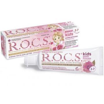 Зубная паста R.O.C.S. Sweet Princess (от 3-7 лет) с ароматом розы