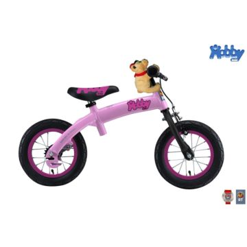 Беговел-велосипед (2 в 1) Hobby Bike New (розовый) ДИСКОНТ