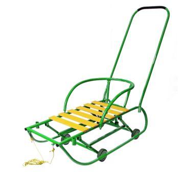Санимобиль на колесах Hubster (зеленый)