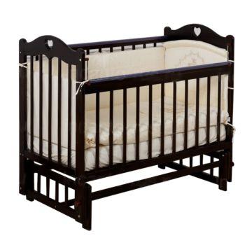 Кроватка детская Incanto Sofi (продольный маятник) (темный)