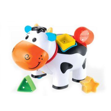 Развивающая игрушка Jia Le Toys Коровка с логикой