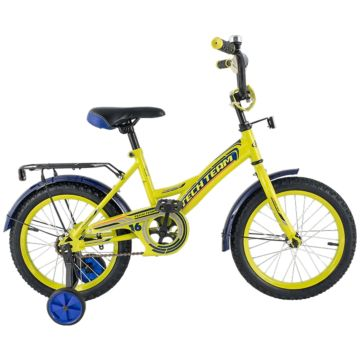 "Детский велосипед TechTeam 135 12"" 2018 (желтый)"