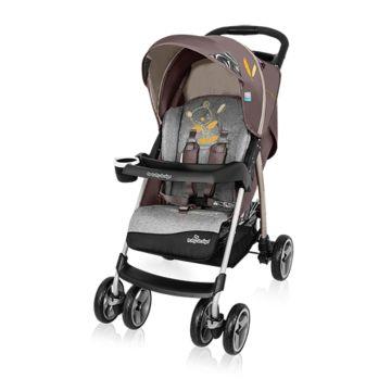 Коляска прогулочная Baby Design Walker Lite (бежевая)