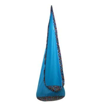 Качели подвесные Polini Кокон (Голубой)