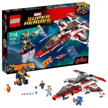 Конструктор Lego Super Heroes 76049 Супер Герои Реактивный самолёт Мстителей: Космическая миссия