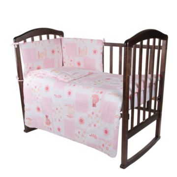 Комплект постельного белья Baby Care 140х110см (6 предметов, хлопок) Птички 2
