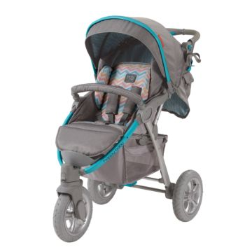 Коляска прогулочная Happy Baby Neon Sport (blue)