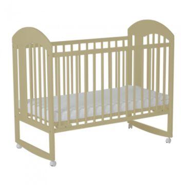 Кроватка детская Gnom Луна (качалка-колесо) (лак)