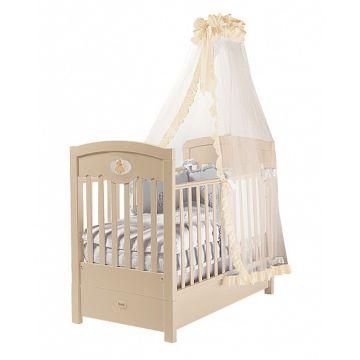 Кроватка детская Feretti FMS Enchant (продольный маятник) (слоновая кость)