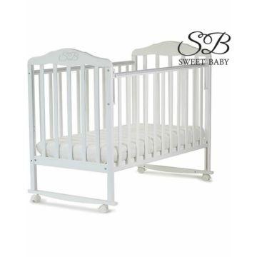 Кроватка-качалка Sweet Baby Lorenzo (Белый)