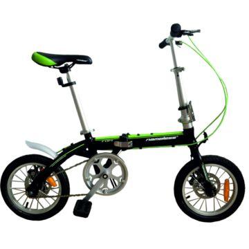 """Велосипед Nameless F014D 14"""" складной (черный)"""
