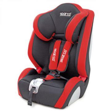 Автокресло Sparco F 1000 K (черно-красный)