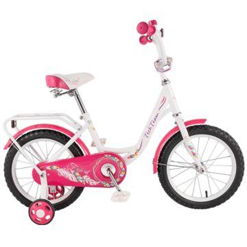 """Детский велосипед TechTeam 131 12"""" 2018 (розовый)"""