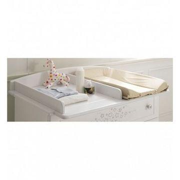 Пеленальная доска Baby Expert 102х80 см (белая)