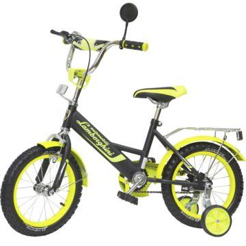 """Детский велосипед Lamborghini 14"""" (зеленый)"""