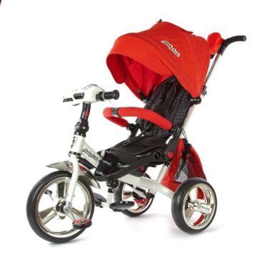 Трехколесный велосипед Leader (Красный)