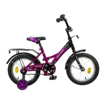 """Детский велосипед Novatrack FR-10 14"""" (2016) фиолетовый"""