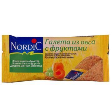Галеты Nordic из овса с фруктами 30 г