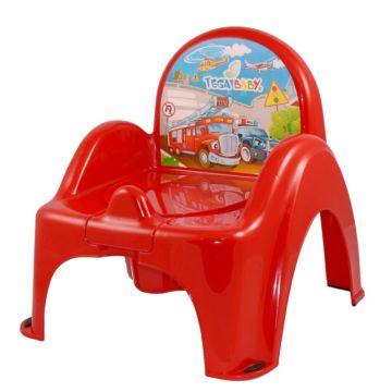 Горшок-стульчик Tega Baby (Машины)