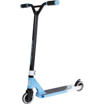 Трюковый самокат Slamm Assault Scooter (белый/голубой)