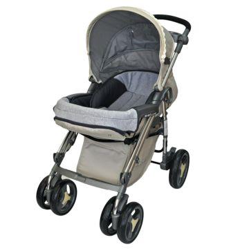 Коляска прогулочная Babylux 207B (6 колес) (pure)