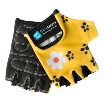 Велоперчатки Crazy Safety (Yellow Leopard)