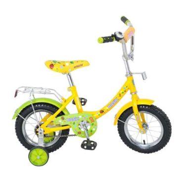 """Детский велосипед Navigator Basic 12"""" (желтый)"""