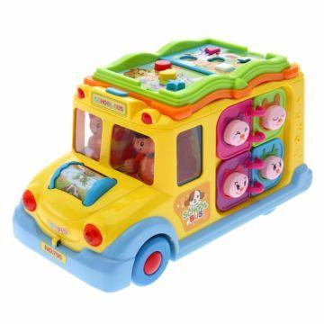 Развивающая игрушка Huile Школьный Автобус