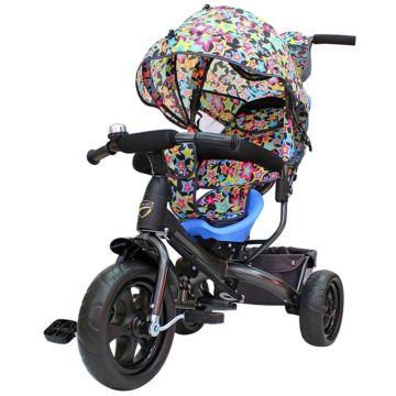 """Трехколесный велосипед Galaxy Лучик Vivat с ПВХ-колесами 10"""" и 8"""" (звезды)"""