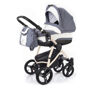 Коляска 2 в 1 Esspero Newborn Lux Beige Grey Lux