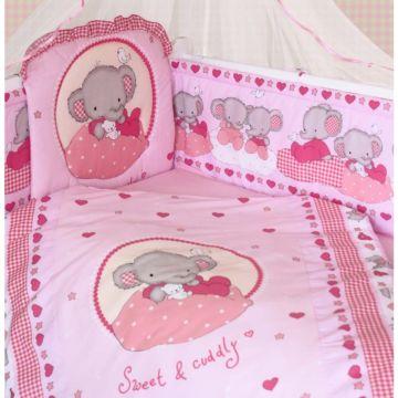 Комплект постельного белья Золотой Гусь Степашка (розовый) (7 предметов)