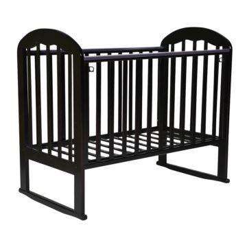 Кроватка детская Кедр Любаша 1-2 (качалка-колесо) (венге)