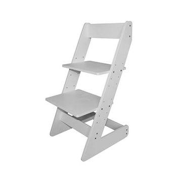 Растущий стул Бемби с лакокрасочным покрытием (белый)