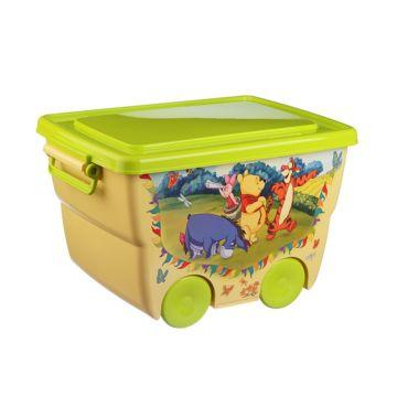 Корзина для игрушек IDEA (М-Пластика) Disney (Банановый)