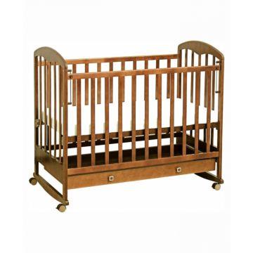 Кроватка детская Фея 325 (качалка-колесо) (Медовый)