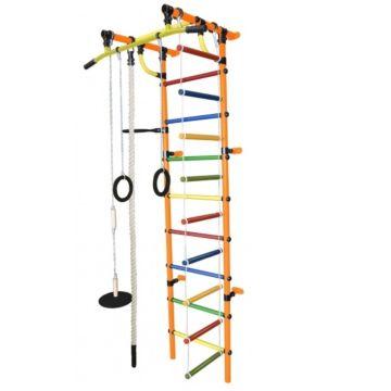 Детский спортивный комплекс Формула Здоровья Гамма-1К Плюс (оранжевый)