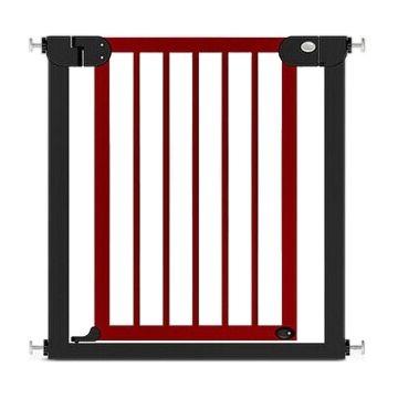 Ворота безопасности Baby Safe 76х83см (красные)
