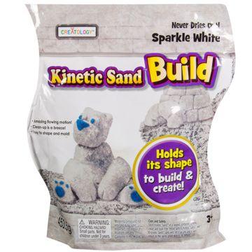 Кинетический песок Kinetic Sand Build (Белый)