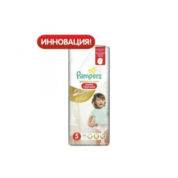 Подгузники-трусики Pampers Premium Care Junior (12-18 кг) 40 шт