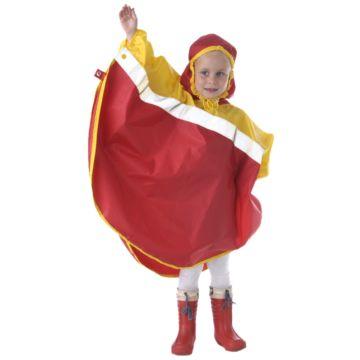 Дождевик детский Чудо-Чадо Светлячок (р.134-140) (Красно-жёлтый)