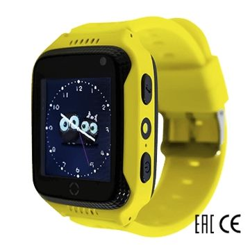 Детские часы с GPS-трекером SmartBabyWatch G100 (желтые)
