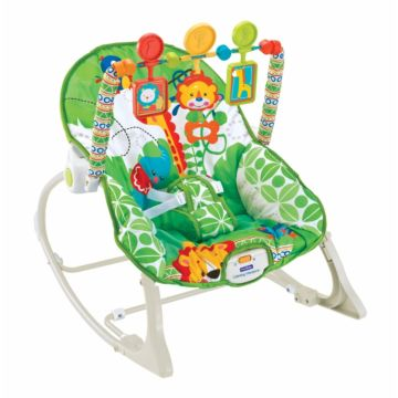 Шезлонг Fitch Baby Infant-To-Toddler Rocker (зеленый)