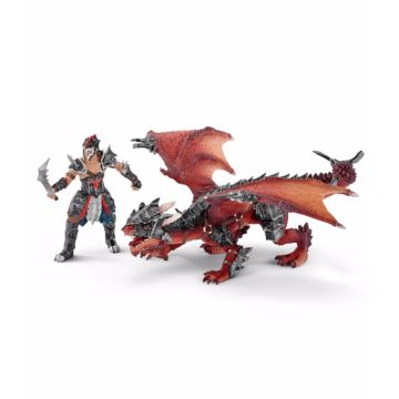 Набор фигурок Воин с драконом Schleich