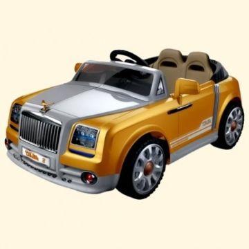 Электромобиль Bambini Elite Car (коричневый/brown)