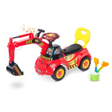 Каталка Toyz Scoop (красная)