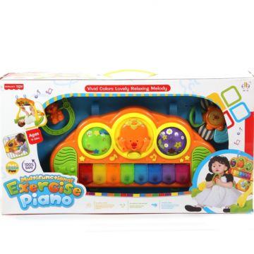 Игровой центр Jia Le Toys Развивающий тренажер с пианино 2 в 1